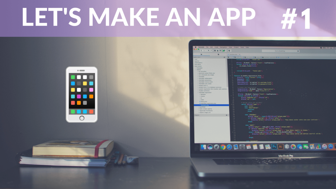 Make an app 1 - Image